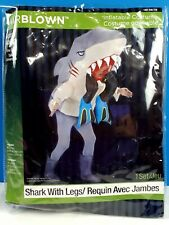 Air Blown Inflatable Costume Shark With Legs Adult One Size Halloween Cosplay