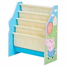 PEPPA PIG SLING BOOKCASE NEW BEDROOM FURNITURE