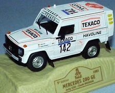 Mercedes 280 GE - Jacky Ickx/Claude Brasseur - Paris Dakar 1983 #142 - Norev