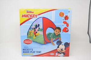 NEW Disney Junior Mickey Mouse Club House Magic Play Tent