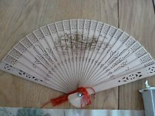 Authentic wooden Chinese fan from yes China