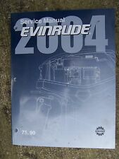 2004 Evinrude 75 90 HP Outboard Motor Service Manual Boat MORE IN OUR STORE V