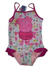 PEPPA PIG♥COSTUME INTERO SWIMSUIT SWIMWEAR♥BIMBA GIRLS♥7 - 8 anni