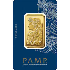 L@@K PAMP 1oz GOLD Bar Minted PREPPER Survival Investment !!!