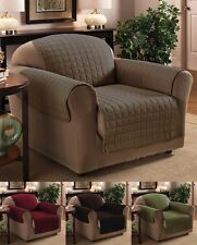 Luxury Quilted LOVE-SEAT Furniture Protector Throw Cover ~ 4 Colors NEW