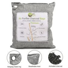 500g Activated Charcoal Air Purifying Bags Non-Toxic Efficient Odor Eliminator