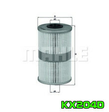 Fuel Filter Mahle KX204D Kraftstofffilter Benzinfilter Drivstoffilter