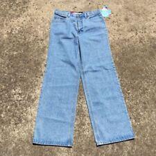 Wide Leg Denim Solid Jeans for Women