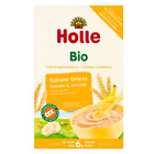 Holle Organic Banana Semolina Milk Porridge Cereal - 250 g