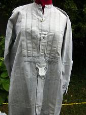 Chemise homme campagne coton gratté début XXè plastron