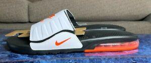 NEW Nike Air Max Camden Mens Slide Black/Crimson-White Size 13  BQ4626-009