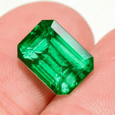 2.4Ct Colombian Emerald Octagon Collection Color Enhanced QMDa502