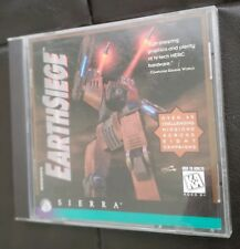 EarthSiege - Sierra- MetalTech PC- Dynamix - Collectors