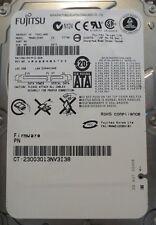 "10 pc. lot Fujitsu MHW2120BH 2.5"" 120gb 5400rpm Sata HDD (DOD tested & Wiped)"