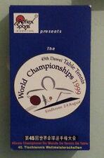 THE 45th DAWEI TABLE TENNIS WORLD CHAMPIONSHIPS 1999   VHS VIDEOTAPE
