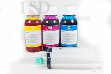 3x4oz Premium Color Refill ink for Canon CL-211 MP240 MP250 MP480