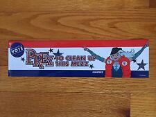 "DC Comics PREZ Bumper Sticker 2015 ""To Clean Up This Mezz"""