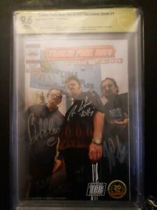 Trailer Park Boys Get A F#Ing Comic Book #1 1:50 Signed Exclusive Variant Ed
