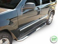 Jeep Grand Cherokee 2005-2010 Side bars CHROME stainless steel side steps