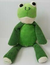 Scentsy Buddy Ribbert the Frog Green Retired Plush Stuffed Animal