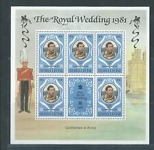 SIERRA LEONE Diane & Charles Royal Wedding 60c Souvenir Sheet MNH 1