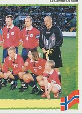 N°235 EQUIPE TEAM 2/2 NORGE NORWAY PANINI EURO 2000 STICKER VIGNETTE