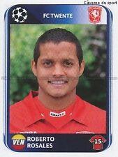N°063 ROSALES # VENEZUELA FC.TWENTE UEFA CHAMPIONS LEAGUE 2011 STICKER PANINI