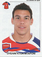 N°254 WELLINGTON BARONI BRAZIL PANIONIOS STICKER PANINI GREEK GREECE LEAGUE 2010