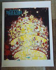 TEGAN & SARA Screen Print #24/26 ARIST PRINT Brian Methe POSTER Columbus, OH