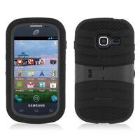 Samsung Galaxy Discover R740 / Centura S738C Hybrid Hard & Soft Kickstand Case