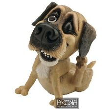 Little Paws Bob the Border Terrier Dog Figurine  NEW