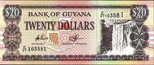 GUYANA,   $20.00,   P 30,   2009,  UNC,  BANKNOTE,  SOUTH AMERICA