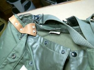 US Army Fireman's Turnout Trousers DSA-100-1079 2 layer vintage old 40x32