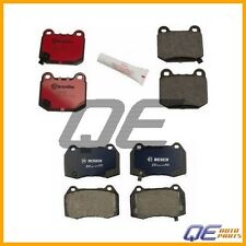 Front / Rear Disc Brake Pad Kit Bosch QuietCast / Brembo for: Nissan 350Z 03-05