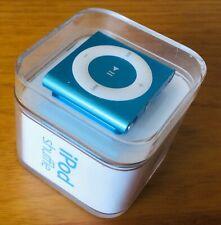 iPod Shuffle 4th Generation Marine Blue Brand New Free Express Postage