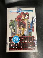 1991 Impel DC Comic Cosmic Cards Box 36 Packs Sealed - Superman NIP