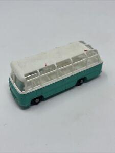 *READ DESC!** RARE. Matchbox Lesney No 68 Mercedes Coach Bus Turquoise Color