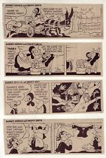 Barney Google & Snuffy Smith by Lasswell - 24 daily comic strips from May 1976