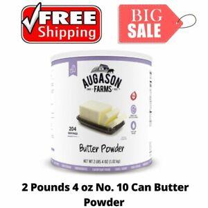 Augason Farms Butter Powder 2 lbs 4oz No. 10 Can Emergency Survival Food Storage