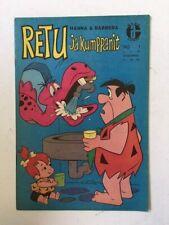 Foreign HANNA-BARBERA Retu ja Kumppanit FLINTSTONES #1 Finnish VF+ Rare Comic