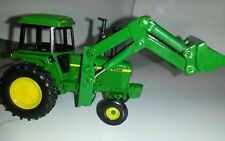 1/64 custom green 4030 tractor with green loader farm toy nice