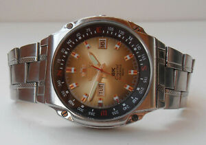 Orient SK Crystal 21 Jewels 46943 Automatic Watch