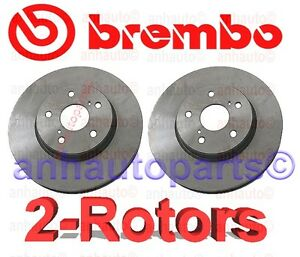 NEW Lexus IS250 Toyota Camry Set of 2 Front Disc Brake Rotors Brembo 4351208040