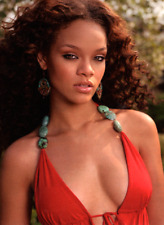ingwa melero sexy red rihanna pamplona top with turquoises, size S