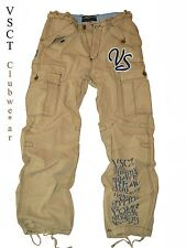 Baggy Hose by VSCT Clubwe*ar *Safari* Jungle Cargo Style-sand Jeans Look *Neu