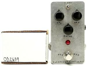 used Fairfield Circuitry Barbershop OD V2, Excellent Condition with Box!