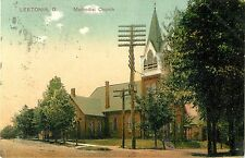 A View of the Methodist Church, Leetonia OH 1908