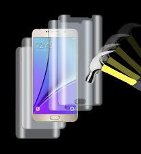 4 x lámina tanques Samsung Galaxy Note 5 3d completamente borde TPU diapositiva 2 xvorn +2 xhinten