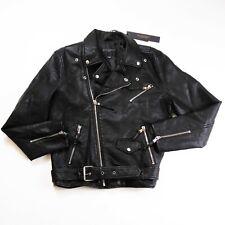 Cult of Individuality mens Biker L/S Jacket size Medium 100%AUTHENTIC RARE black