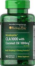 Puritan's Pride Myoleptin CLA 1000 with Coconut Oil 90 Softgels